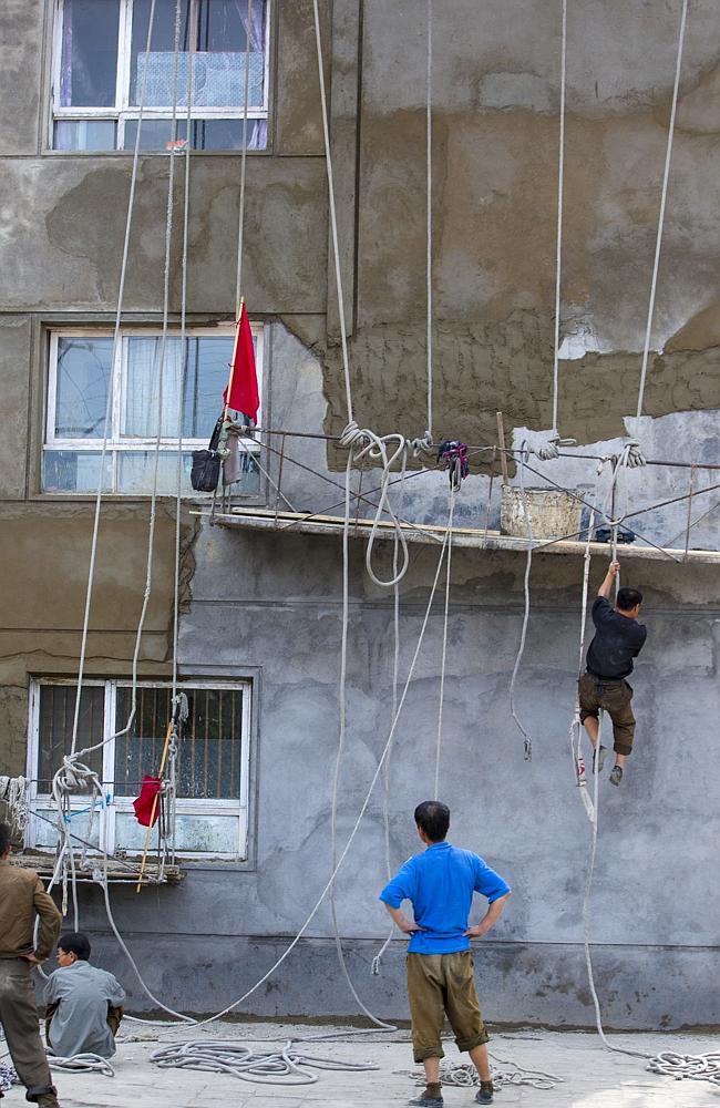 Sicherheitsstandards für Arbeiter in Nordkorea